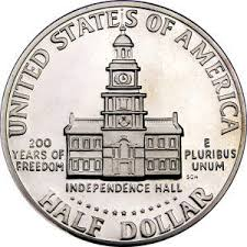 1976 Bicentennial Half Reverse