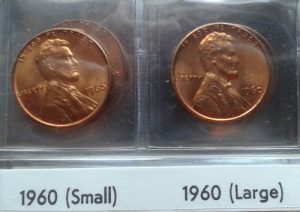 1960 Lincoln Cents