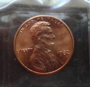 1982 Zinc Cent