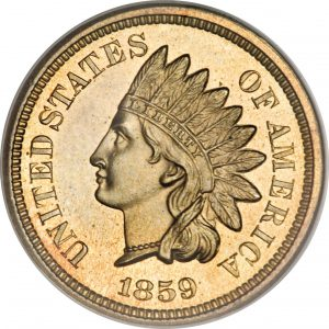 1859 Indian Cent lg