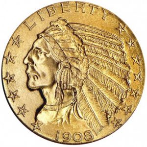 Gold Indian Half-Eagle
