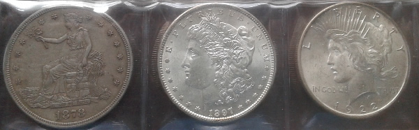 Trade Morgan and Peace Dollars