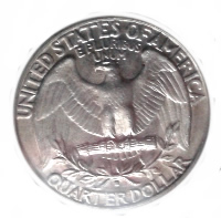 1932-S Washington Quarter Reverse