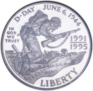 1993 World War II Commemorative Dollar
