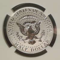 2014 Kennedy Half Dollar Reverse